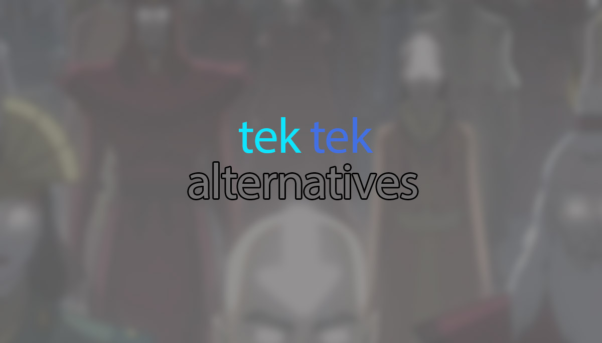 Tektek Alternatives